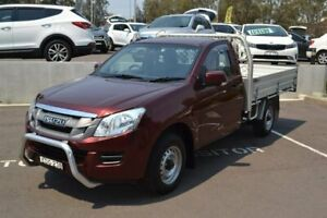 2013 Isuzu D-MAX MY12 SX 4x2 Red 5 Speed Manual Cab Chassis Maitland Maitland Area Preview