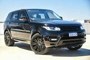 2015 Land Rover Range Rover Sport L494 16MY TdV6 CommandShift SE Black 8 Speed Sports Automatic Osborne Park Stirling Area Preview