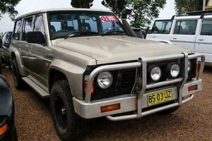 1991 Nissan Patrol TI (4x4) Gold Automatic Wagon Colyton Penrith Area Preview