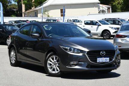 2017 Mazda 3 BN5278 Maxx SKYACTIV-Drive Machine Grey 6 Speed Sports Automatic Sedan Maylands Bayswater Area Preview