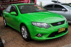 2010 Ford Falcon FG XR6 Frog Green 5 Speed Sports Automatic Sedan Minchinbury Blacktown Area Preview