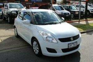 2012 Suzuki Swift FZ GA White 4 Speed Automatic Hatchback Hoppers Crossing Wyndham Area Preview