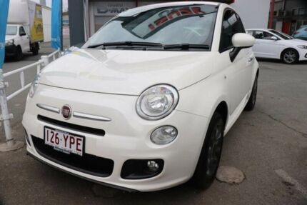 2014 Fiat 500 Series 3 S Vanilla Ice Cream 6 Speed Manual Hatchback Cleveland Redland Area Preview