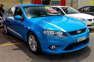 2009 Ford Falcon FG XR6 Blue 5 Speed Sports Automatic Sedan Colyton Penrith Area Preview