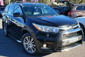 2015 Toyota Kluger GSU55R Grande AWD Black 6 Speed Sports Automatic Wagon Phillip Woden Valley Preview