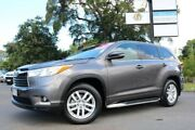 2015 Toyota Kluger GSU55R GX AWD Grey 6 Speed Sports Automatic Wagon Earlville Cairns City Preview