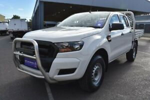 2016 Ford Ranger PX MkII XL 3.2 (4x4) Cool White 6 Speed Automatic Cab Chassis