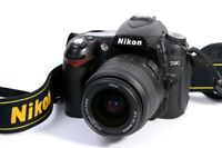 Nikon D90 with 18-55 mm f/3.5-5.7 Lens