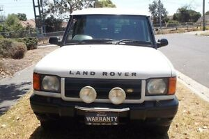 2000 Land Rover Discovery TD5 (4x4) White 4 Speed Automatic 4x4 Wagon Melbourne CBD Melbourne City Preview