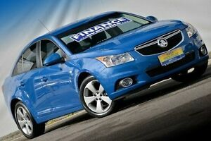 2014 Holden Cruze JH Series II MY14 Equipe Blue 6 Speed Sports Automatic Sedan Ferntree Gully Knox Area Preview