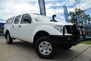 2007 Nissan Navara D40 RX (4x4) White 5 Speed Automatic Dual Cab Pick-up Mulgrave Hawkesbury Area Preview