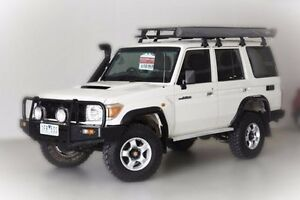 2010 Toyota Landcruiser VDJ76R MY10 Workmate White 5 Speed Manual Wagon Narre Warren Casey Area Preview