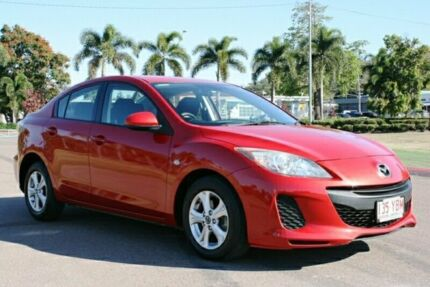 2013 Mazda 3 BL10F2 MY13 Neo Activematic Red 5 Speed Sports Automatic Sedan Townsville Townsville City Preview