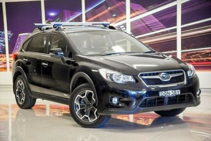 2014 Subaru XV G4X MY14 2.0i-S Lineartronic AWD Black 6 Speed Constant Variable Wagon