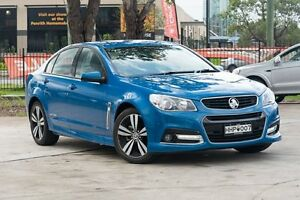 2015 Holden Commodore VF MY15 SV6 Storm Perfect Blue 6 Speed Sports Automatic Sedan Penrith Penrith Area Preview