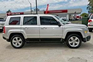2012 Jeep Patriot MK MY2013 Sport CVT Auto Stick 4x2 Silver 6 Speed Constant Variable Wagon