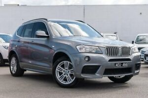2012 BMW X3 F25 MY0412 xDrive30d Steptronic Grey 8 Speed Automatic Wagon Dandenong Greater Dandenong Preview