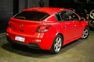 2012 Holden Cruze JH Series II MY12 SRi-V Red 6 Speed Manual Hatchback