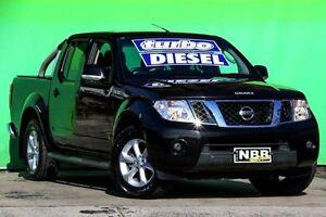 2012 Nissan Navara D40 S6 MY12 ST 4x2 Cosmic Black 5 Speed Sports Automatic Utility Ringwood East Maroondah Area Preview