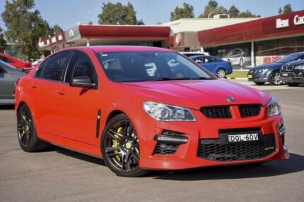 2013 Holden Special Vehicles GTS GEN-F MY14 Red Hot 6 Speed Sports Automatic Sedan