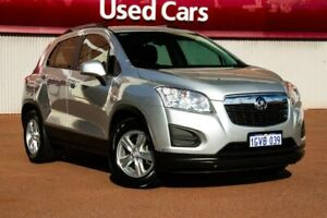 2015 Holden Trax TJ MY16 LS Silver 6 Speed Automatic Wagon Fremantle Fremantle Area Preview