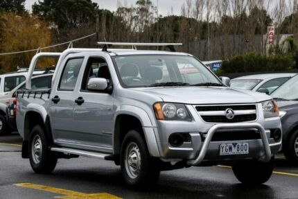 2011 Holden Colorado RC MY11 LX (4x2) Silver 5 Speed Manual Crewcab Ringwood East Maroondah Area Preview