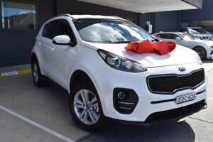 2016 Kia Sportage QL MY16 Si 2WD White 6 Speed Sports Automatic Wagon Pennant Hills Hornsby Area Preview