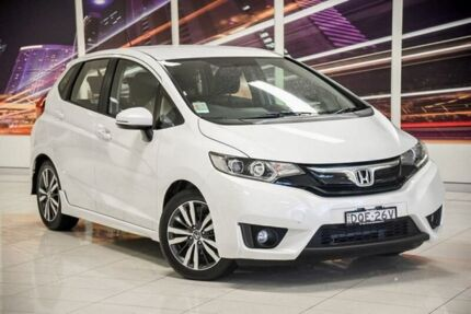 2017 Honda Jazz GF MY17 VTi-L White 1 Speed Constant Variable Hatchback