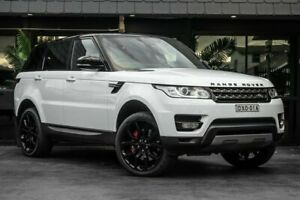 2014 Land Rover Range Rover Sport L494 MY14.5 SE White 8 Speed Sports Automatic Wagon Bowen Hills Brisbane North East Preview
