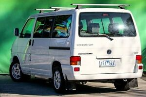 2003 Volkswagen Caravelle T4 GLS White 4 Speed Automatic Bus Ringwood East Maroondah Area Preview