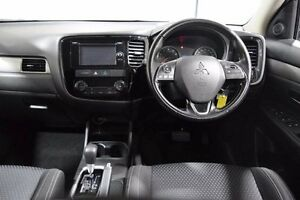 2015 Mitsubishi Outlander ZK MY16 LS 4WD Silver 6 Speed Constant Variable Wagon Cooee Burnie Area Preview
