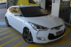 2015 Hyundai Veloster FS4 Series II White Sports Automatic Dual Clutch Mill Park Whittlesea Area Preview