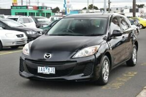 2013 Mazda 3 BL10F2 MY13 Neo Activematic Black 5 Speed Sports Automatic Hatchback Cheltenham Kingston Area Preview