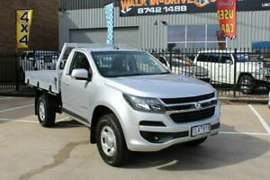 2017 Holden Colorado RG MY17 LS (4x2) Silver 6 Speed Automatic Cab Chassis Hoppers Crossing Wyndham Area Preview