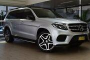 2016 Mercedes-Benz GLS350 X166 d 9G-TRONIC 4MATIC Sport Silver 9 Speed Sports Automatic Wagon Belconnen Belconnen Area Preview