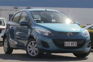 2012 Mazda 2 DE10Y2 MY12 Neo Aquatic Blue 4 Speed Automatic Hatchback Rocklea Brisbane South West Preview