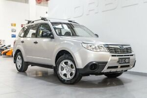 2009 Subaru Forester MY10 X Silver 4 Speed Auto Elec Sportshift Wagon Port Melbourne Port Phillip Preview