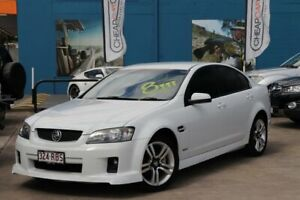 2010 Holden Commodore VE MY10 SV6 White 6 Speed Sports Automatic Sedan Greenslopes Brisbane South West Preview