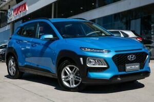 2019 Hyundai Kona OS.2 MY19 Active 2WD Blue 6 Speed Sports Automatic Wagon Castle Hill The Hills District Preview