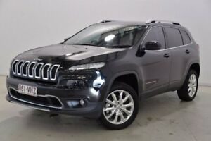 2014 Jeep Cherokee KL Limited Black 9 Speed Sports Automatic Wagon