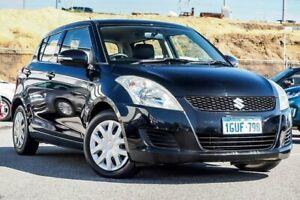 2013 Suzuki Swift FZ GL Black 5 Speed Manual Hatchback Osborne Park Stirling Area Preview