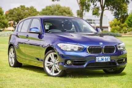 2017 BMW 120i F20 LCI Sport Line Steptronic Blue 8 Speed Sports Automatic Hatchback