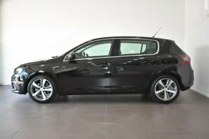 2017 Peugeot 308 T9 MY18 Allure Black 6 Speed Sports Automatic Hatchback
