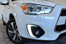 2014 Mitsubishi ASX XB MY15 LS (2WD) White Continuous Variable Wagon Coopers Plains Brisbane South West Preview