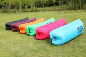 "BRAND NEW ""Air Lazy bag"" inflatable loungers chair bed mattress Edmonton Edmonton Area image 1"