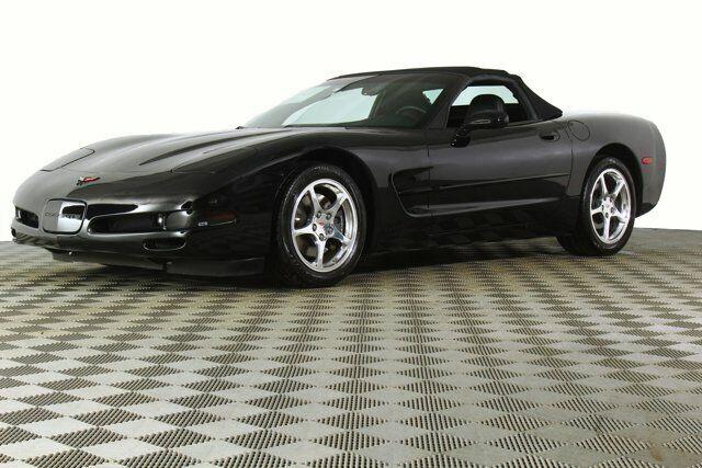 2000 Black Chevrolet Corvette     C5 Corvette Photo 2
