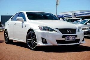 2013 Lexus IS GSE21R MY13 IS350 F Sport White 6 Speed Sports Automatic Sedan Osborne Park Stirling Area Preview