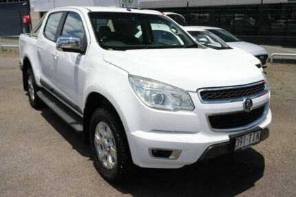 2013 Holden Colorado RG MY13 LTZ Crew Cab 4x2 White 6 Speed Sports Automatic Utility Slacks Creek Logan Area Preview