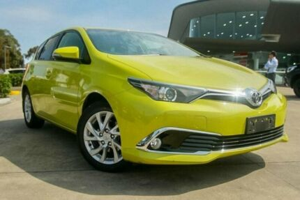 2015 Toyota Corolla Yellow Constant Variable Hatchback