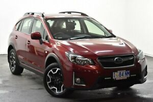 2016 Subaru XV MY16 2.0I Red Continuous Variable Wagon North Hobart Hobart City Preview